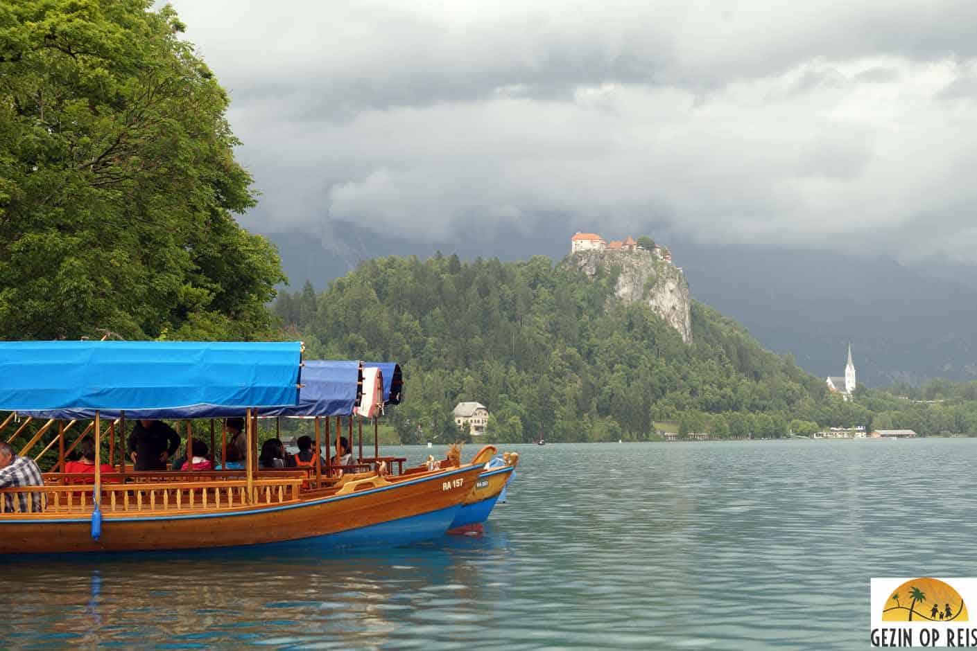 boot meer van bled varen
