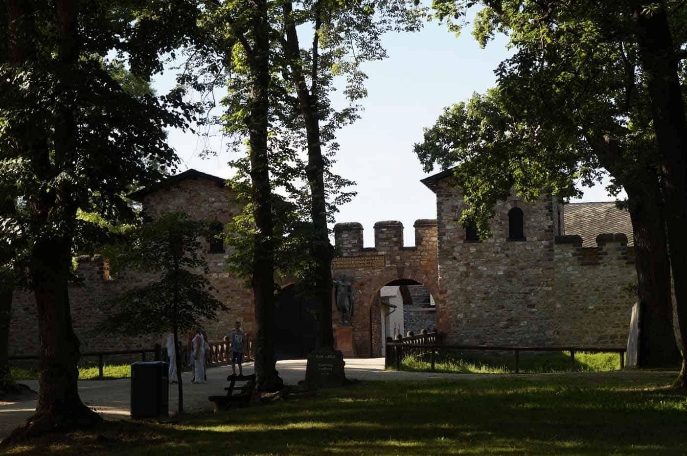 Romeinse fort frankfurt