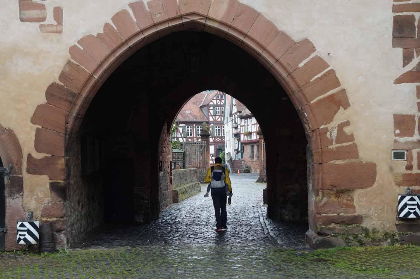 Büdingen Duitsland stadswandeling