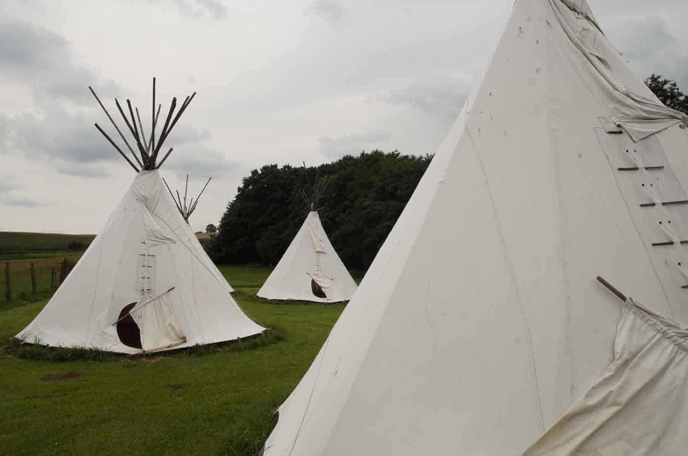 tipi tent camping nieder-moos