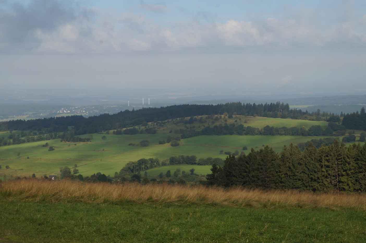 uitzicht vogelsberg