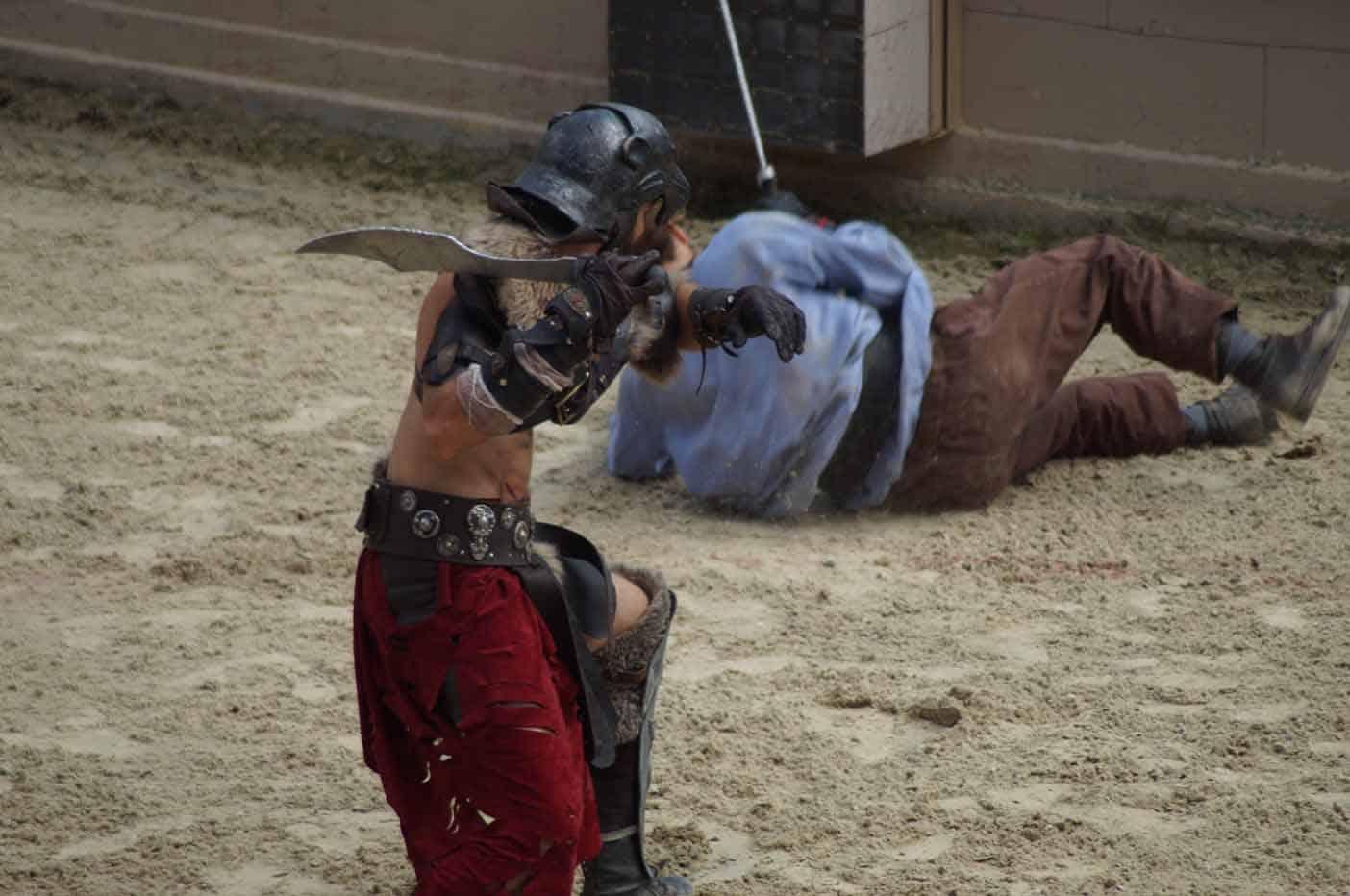gladiator puy du fou frankrijk
