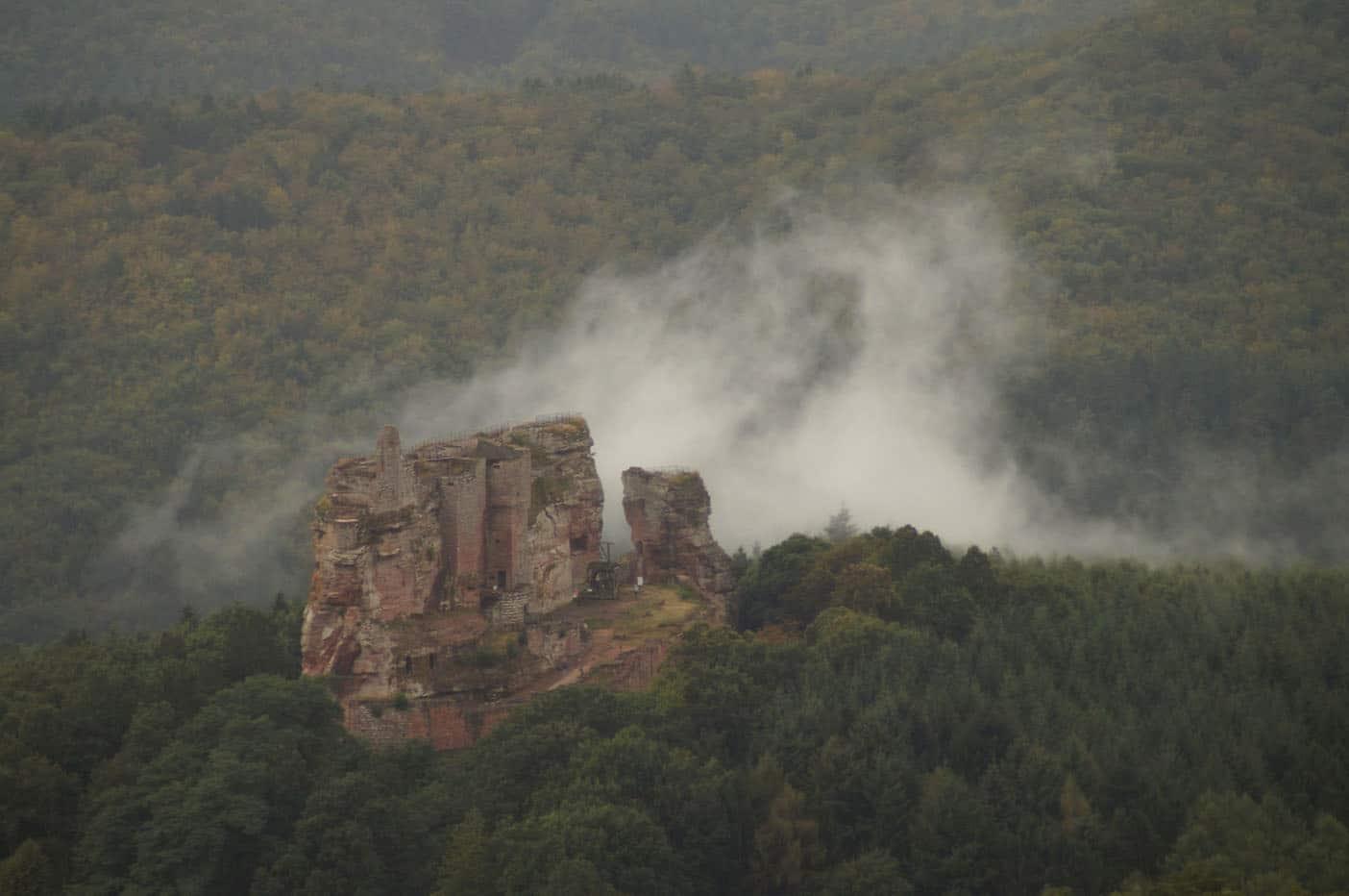 drie kastelen route