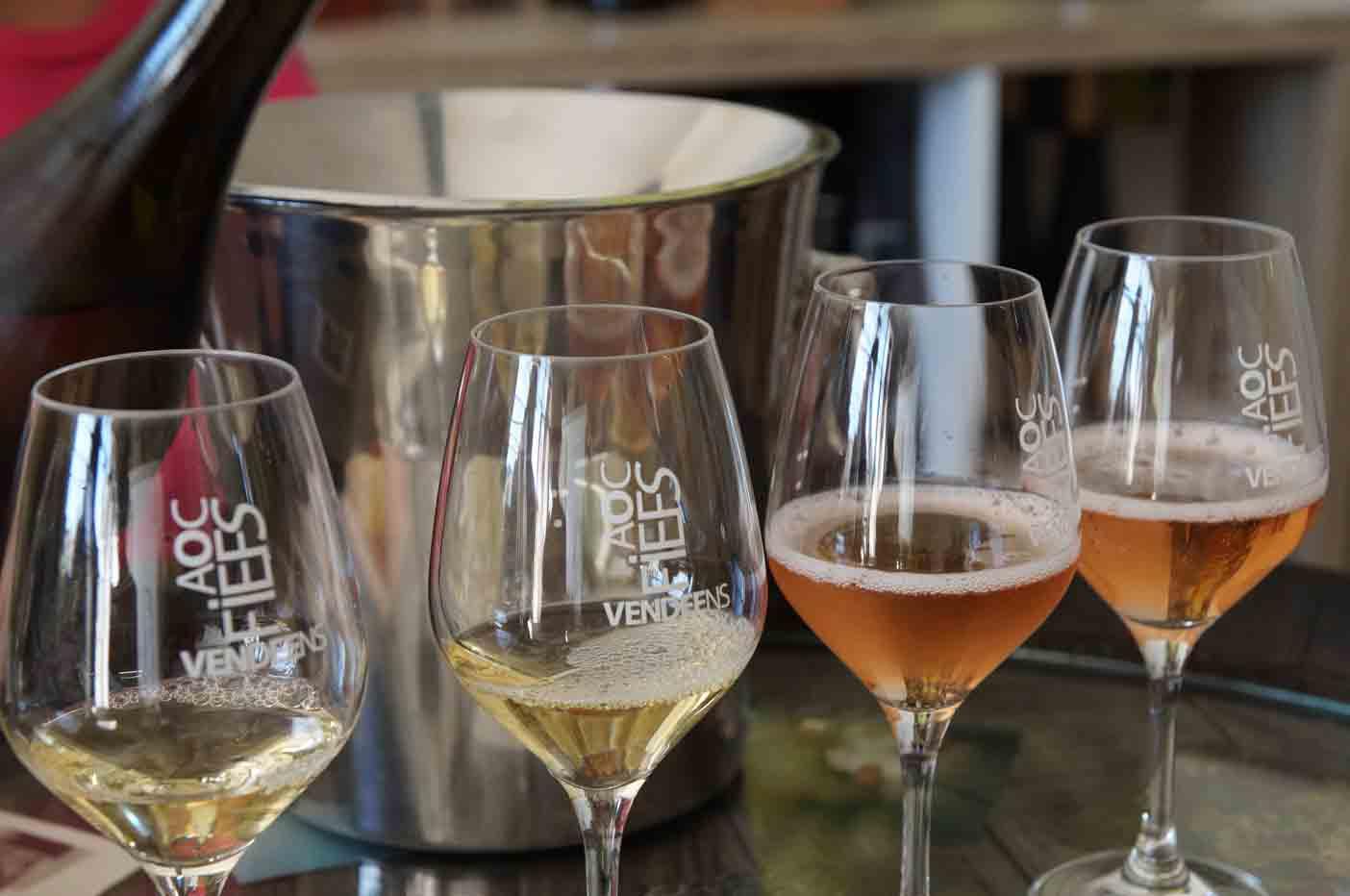 wijn proeven vendee