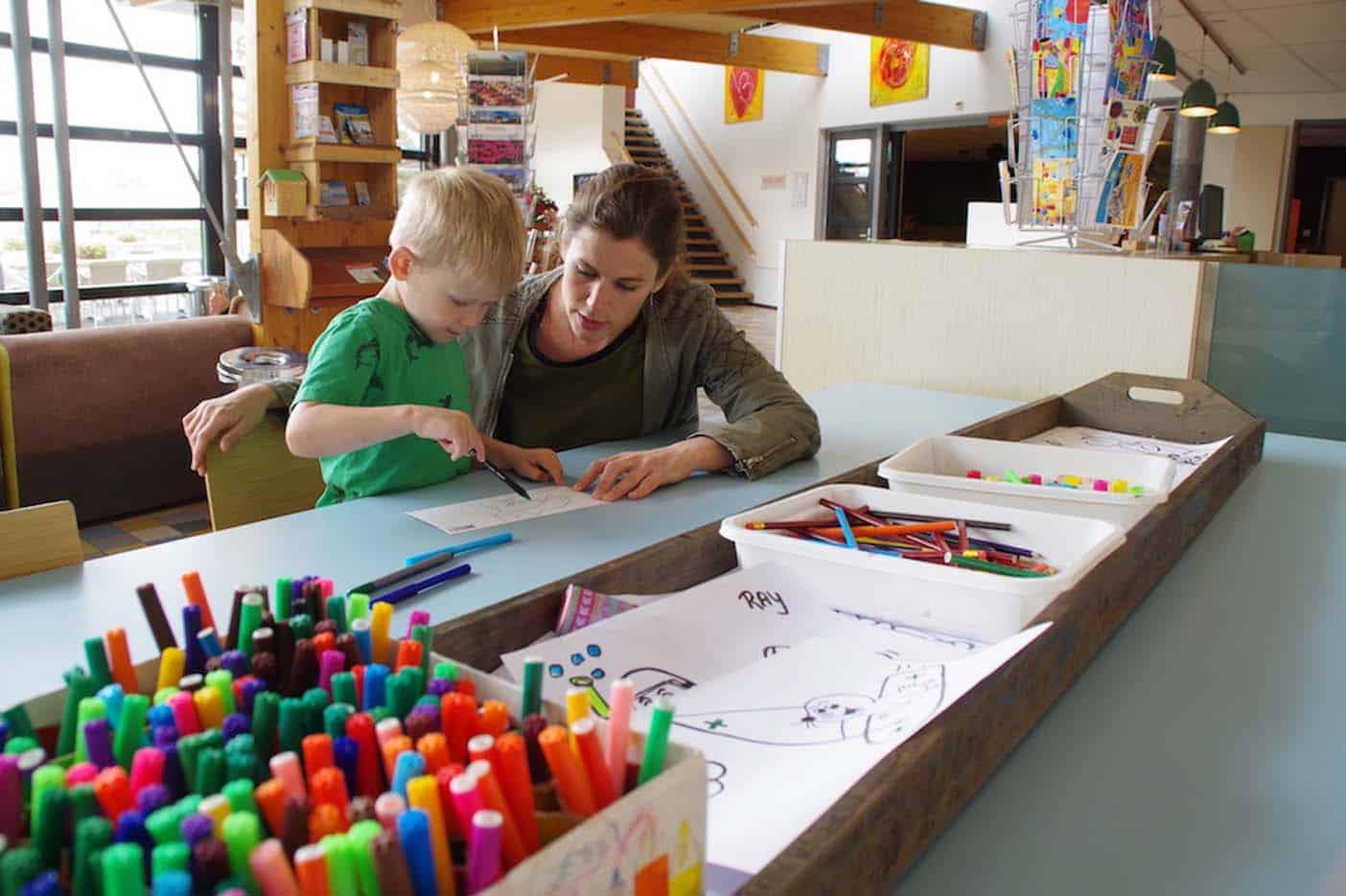 Texel met kinderen stayokay