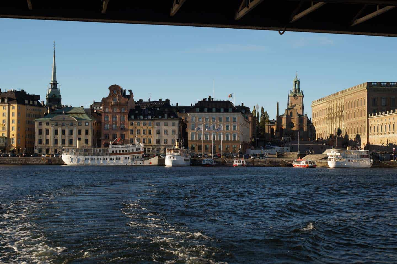 rondvaartboot stockholm