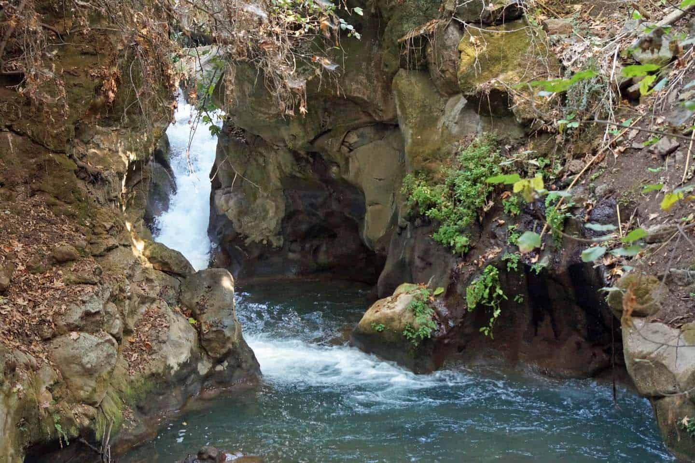 banias national park gola hoogvlakte