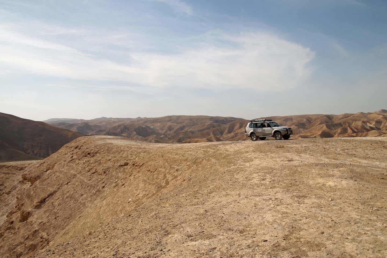 woestijn in israel
