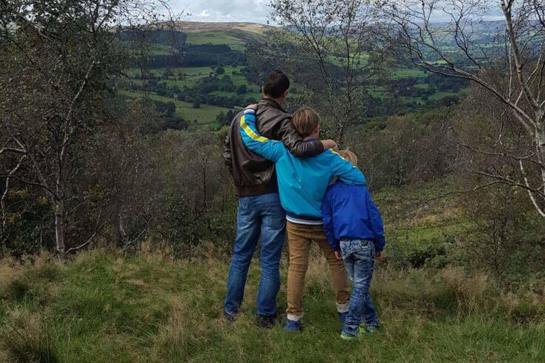 Sheffield met kinderen