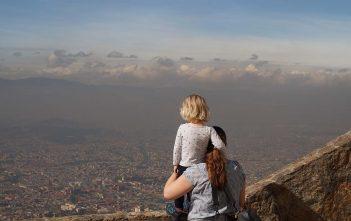 colombia bogota uitzicht