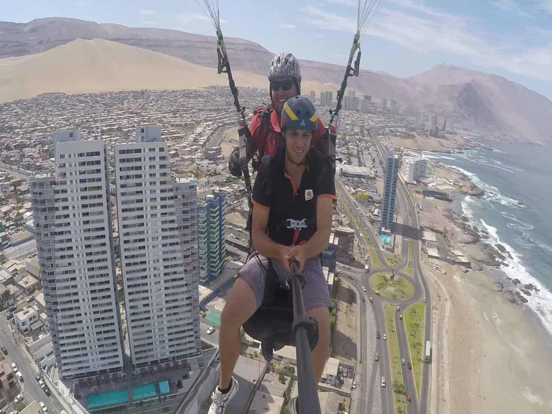 iquique paragliden