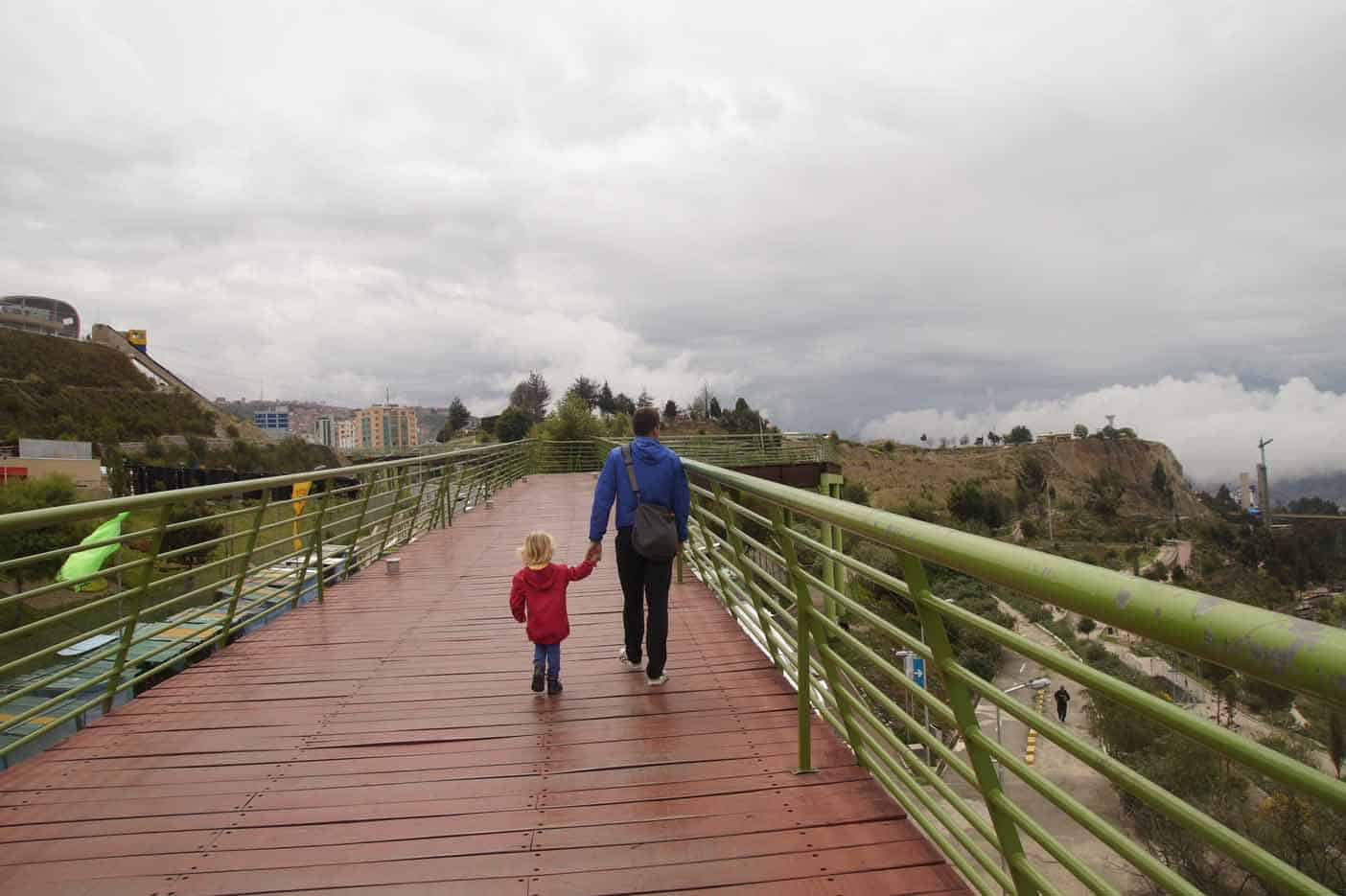 la paz met kinderen