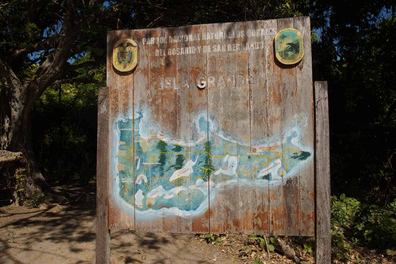 isla grande rosario eilanden