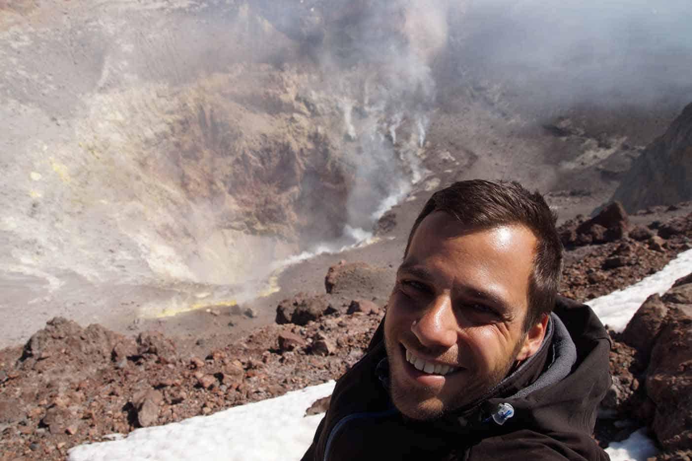 Lascar vulkaan beklimmen San pedro de atacama