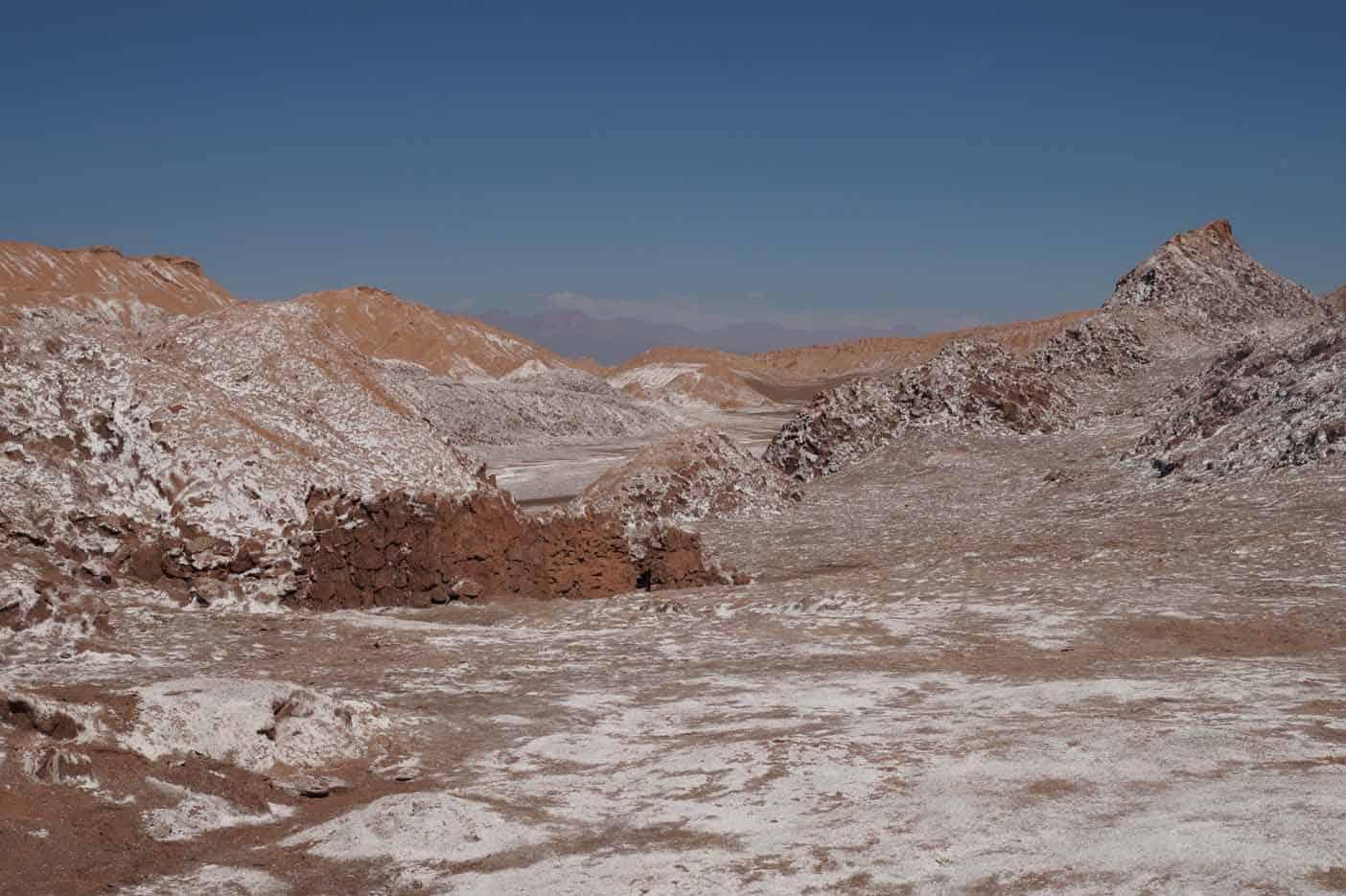 Vallei van de maan San Pedro de Atacama