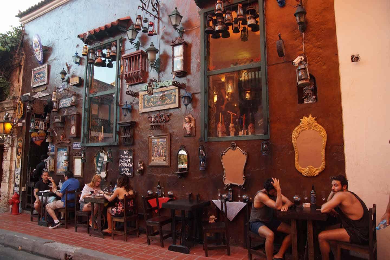 Eten en drinken in Cartagena Colombia