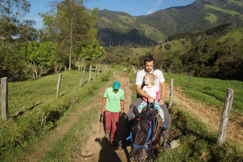 paardrijden Valle de Cocora