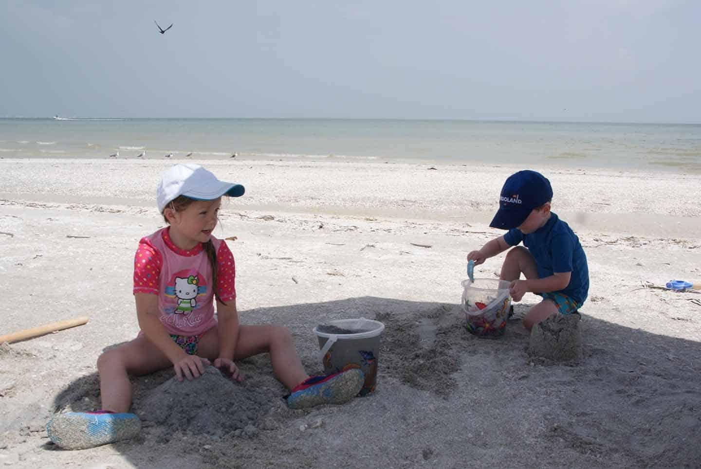 Florida met kinderen