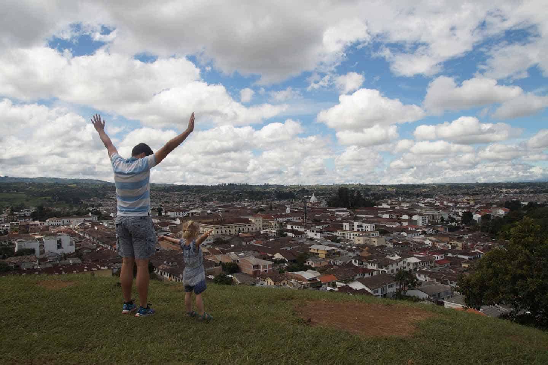Popayan colombia piramide