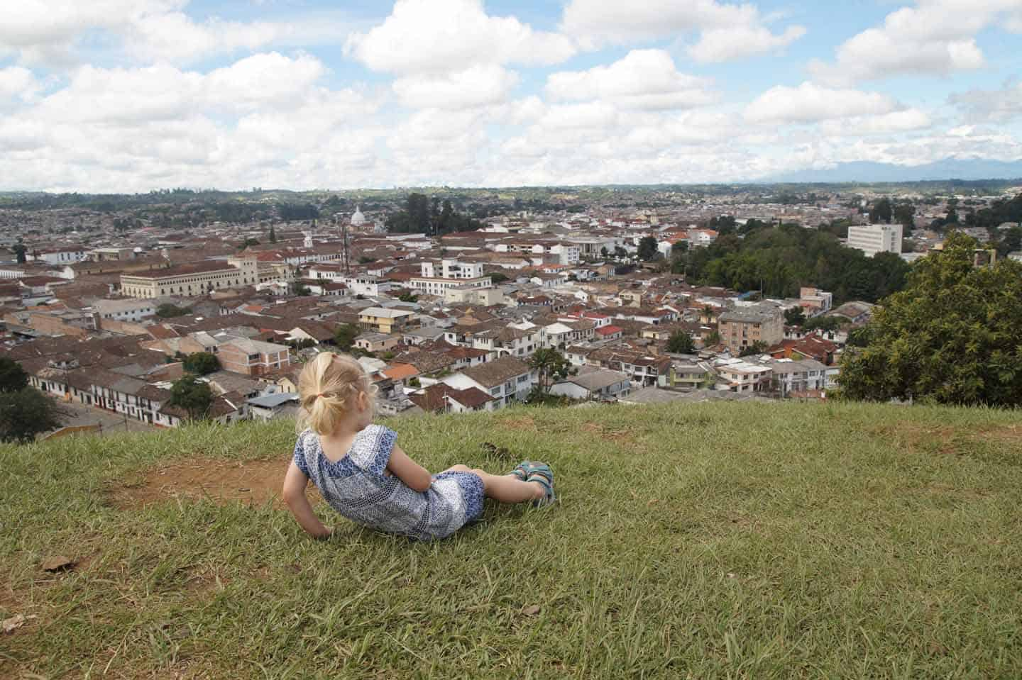 Popayan colombia piramide