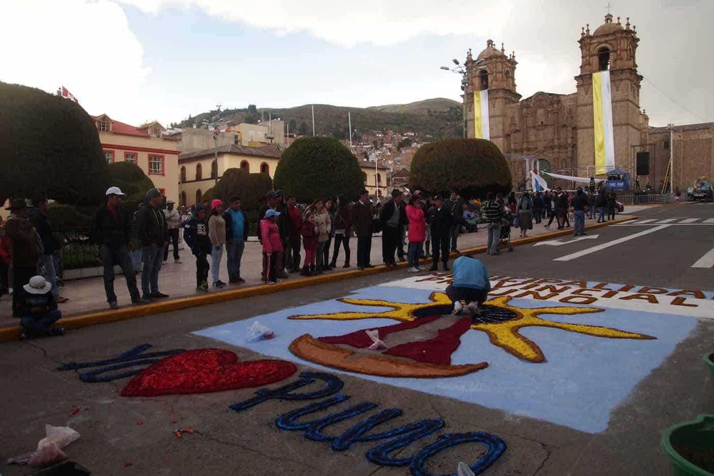 Festival La Virgin de la Candeleria in Puno