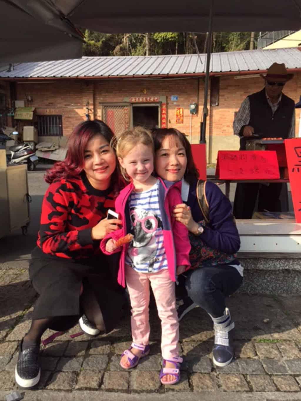 Taiwan met kinderen