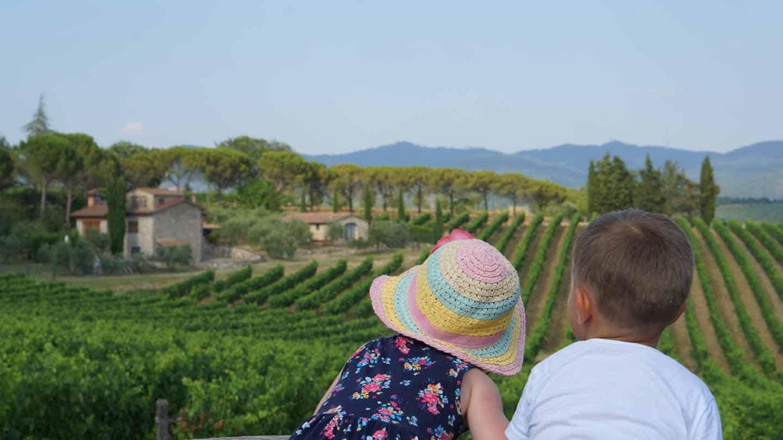 De tijd van je leven met kinderen in Toscane