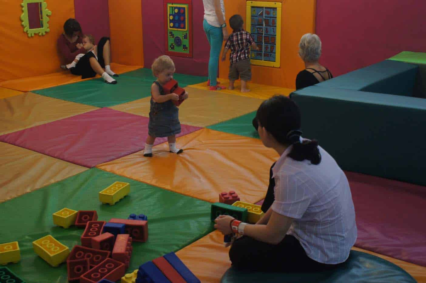 Funarium bangkok met kinderen