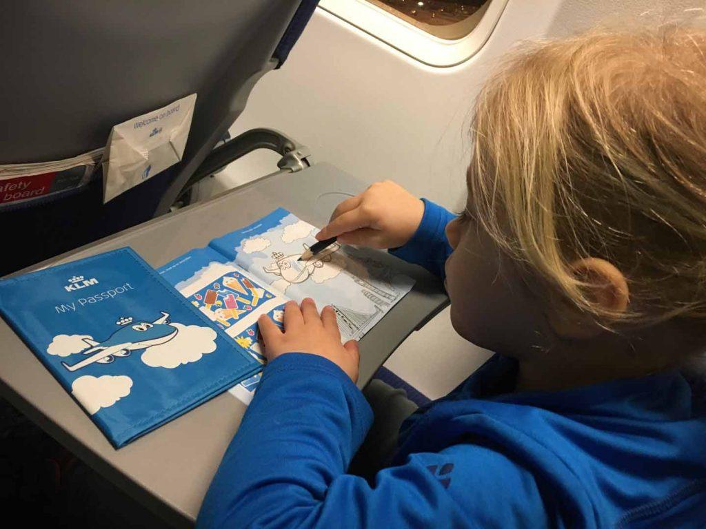 speelgoed voor in het vliegtuig