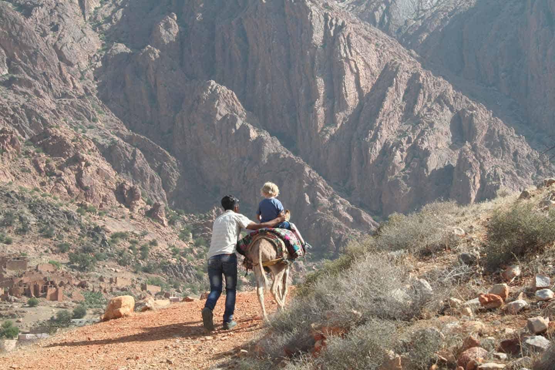 Marokko met een peuter