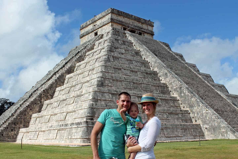Mexico met een peuter