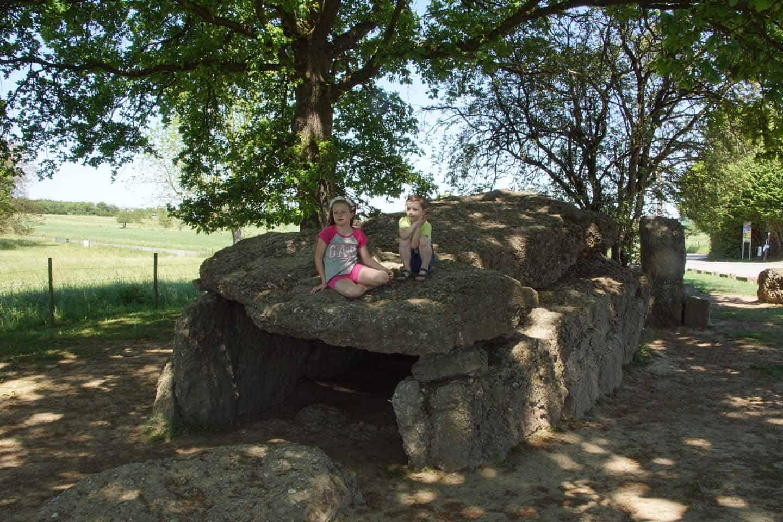 Menhir- en dolmenvelden bij Wéris