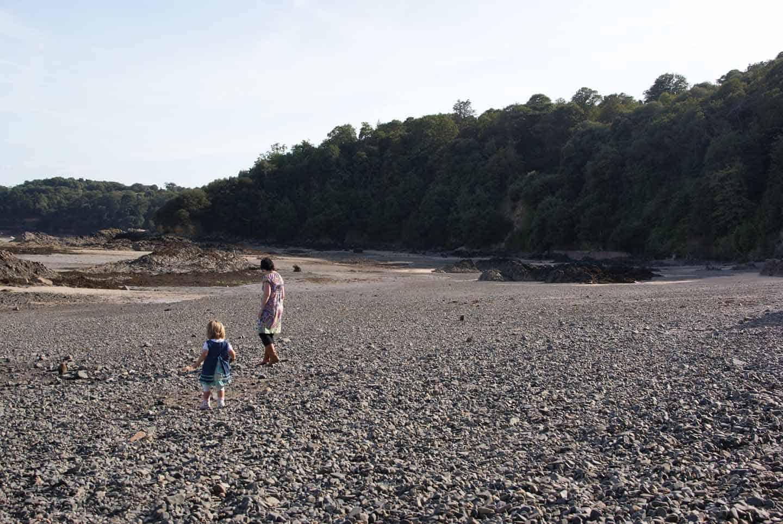 jersey kanaaleiland met kids