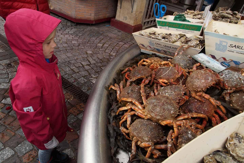 trouville sur mer vismarkt