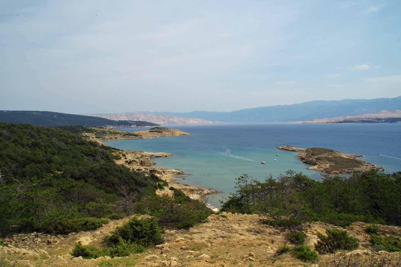 Rab Croatia beach Stolac