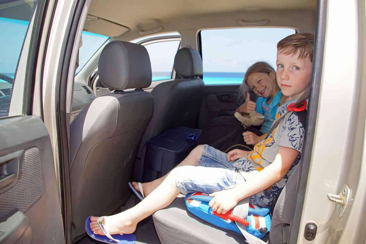bubblebum opblaasbaar autostoeltje
