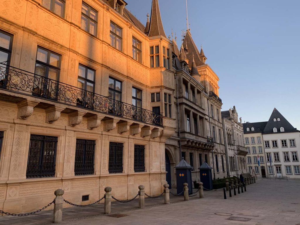 Paleis Luxemburg stad