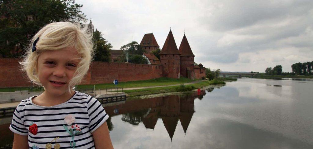 malbork kasteel met kinderen