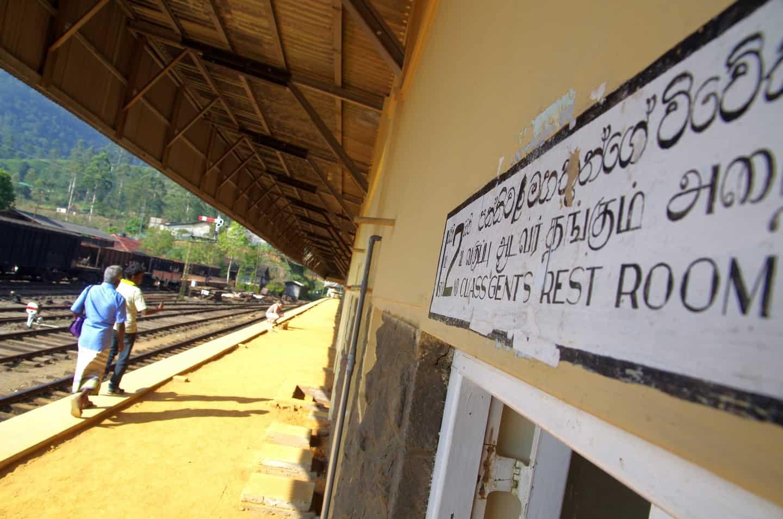 Nuwara Eliya trein
