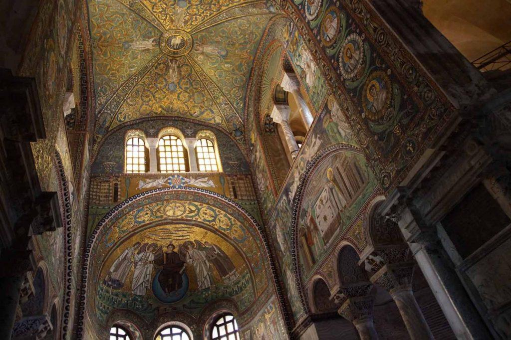 Basiliek van San Vitale ravenna