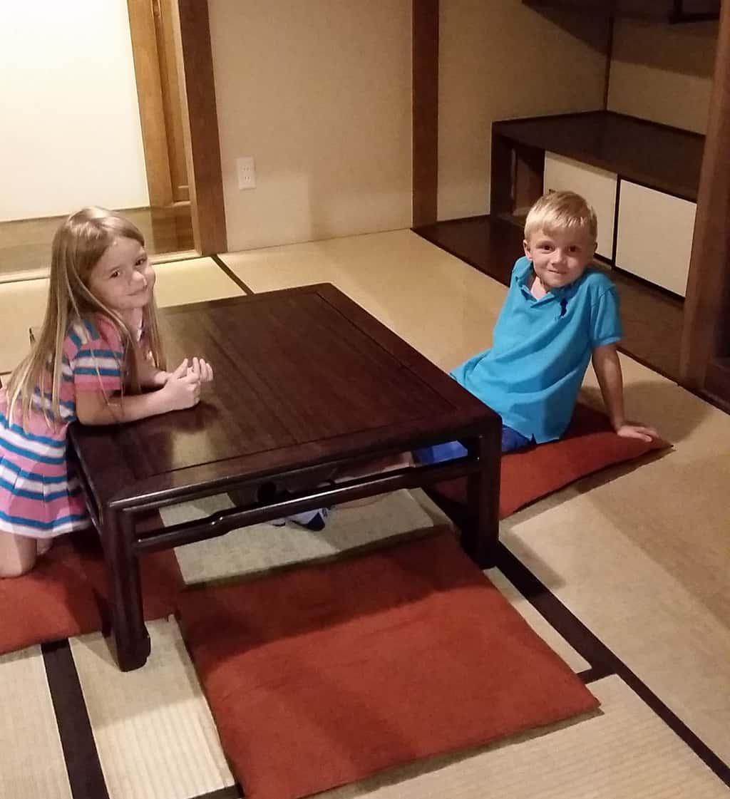 Tokyo met .kinderen