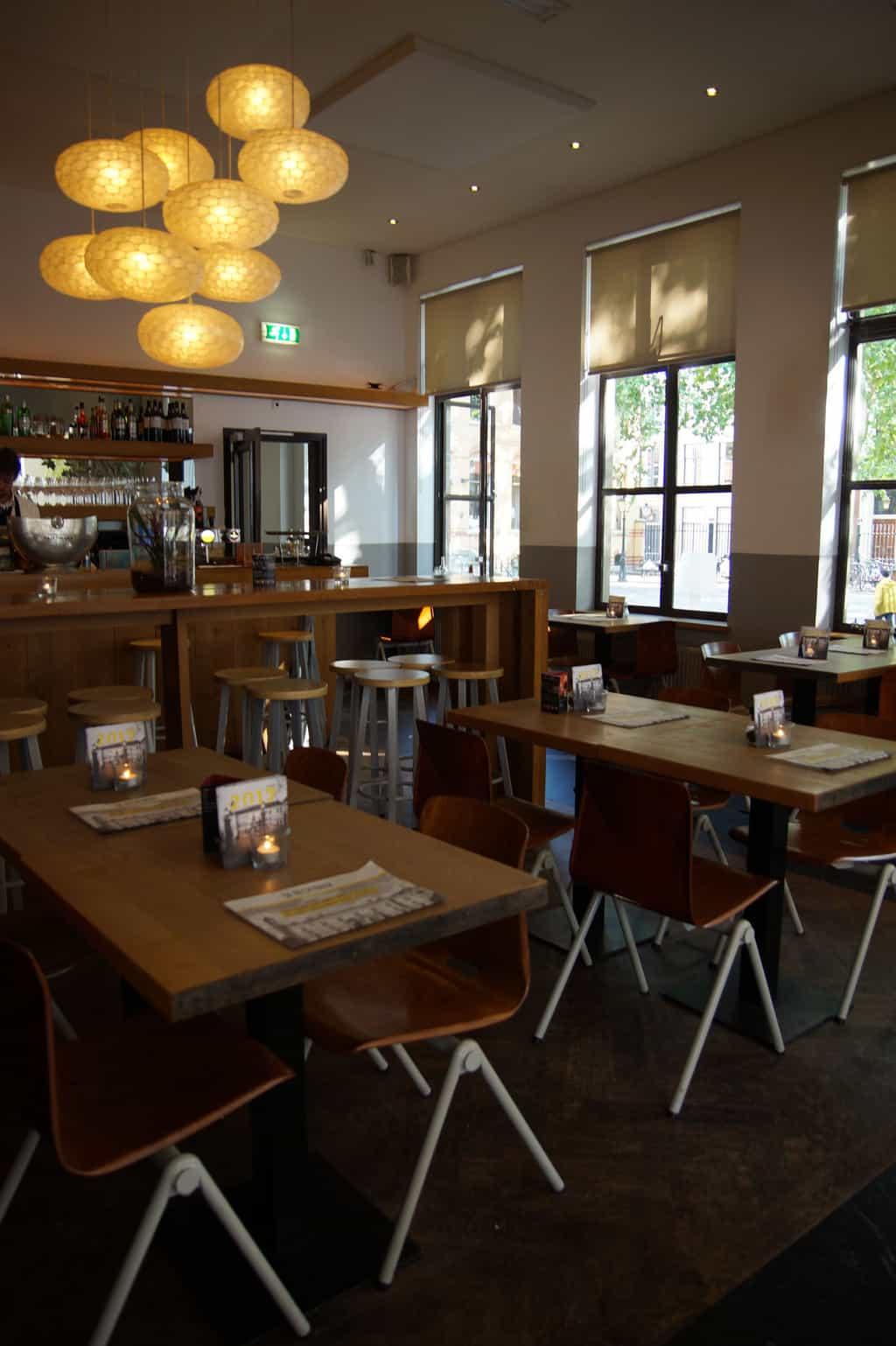kindvriendelijk restaurant Utrecht de rechtbank