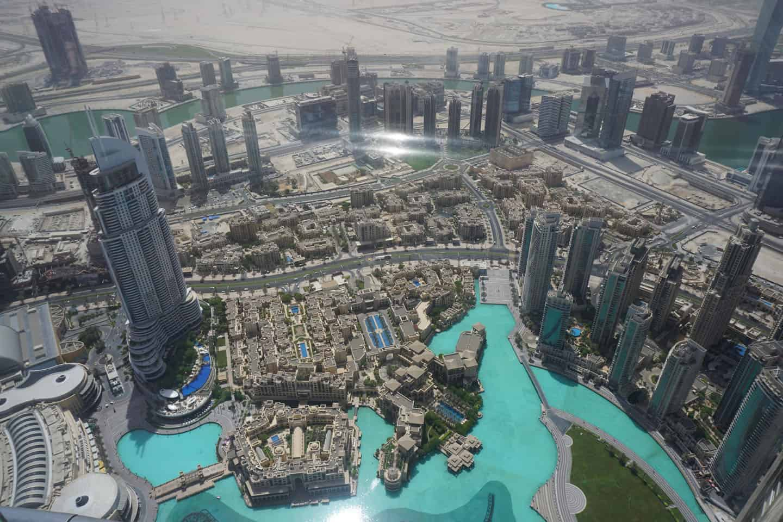 Dubai met baby