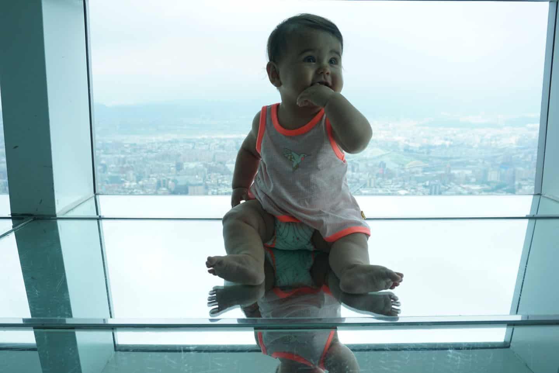 Taiwan met baby