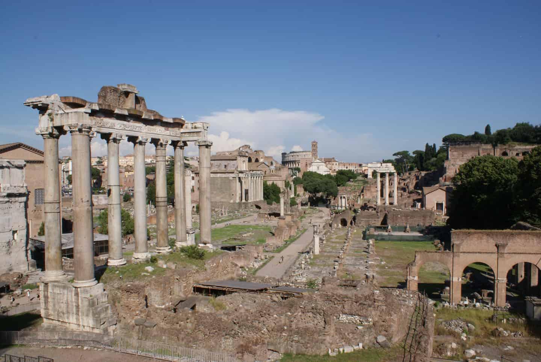 zwanger op vakantie rome italie