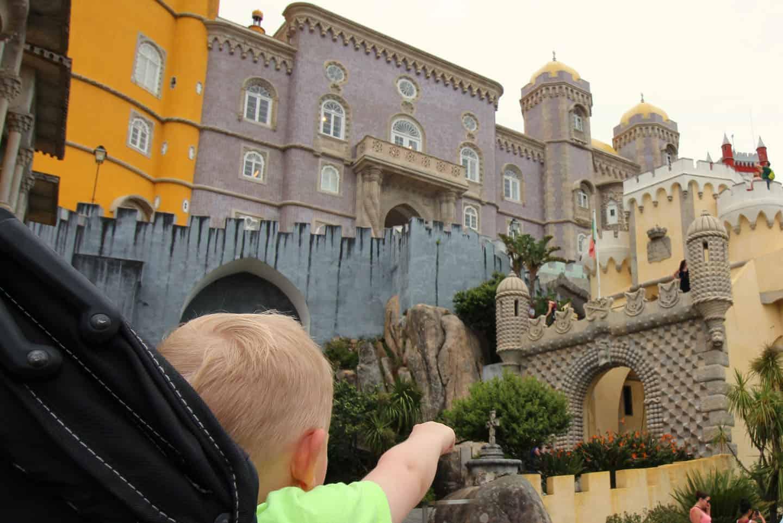 Palacio da Pena met kinderen