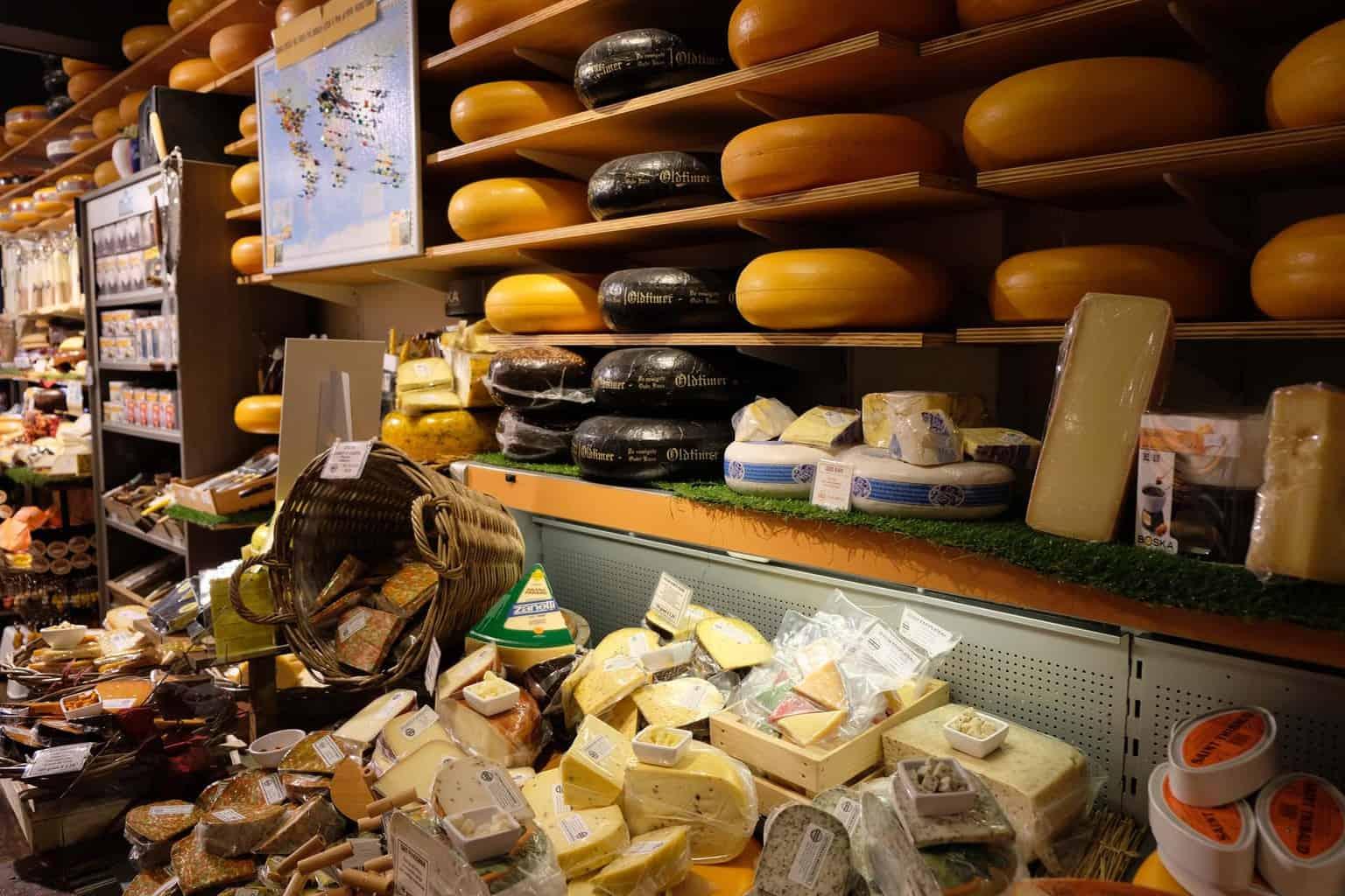 gouda met kinderen kaas