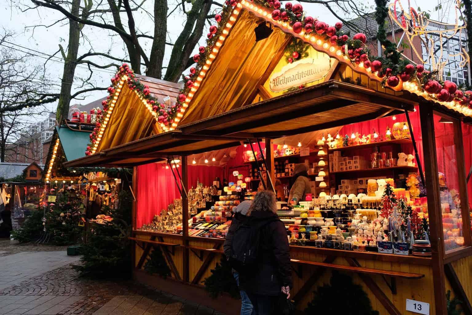 Munster kerstmarkt stadhuis