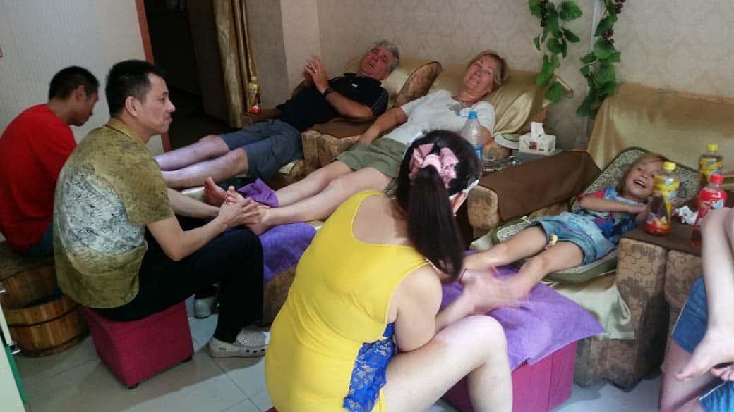 Shanghai met kinderen