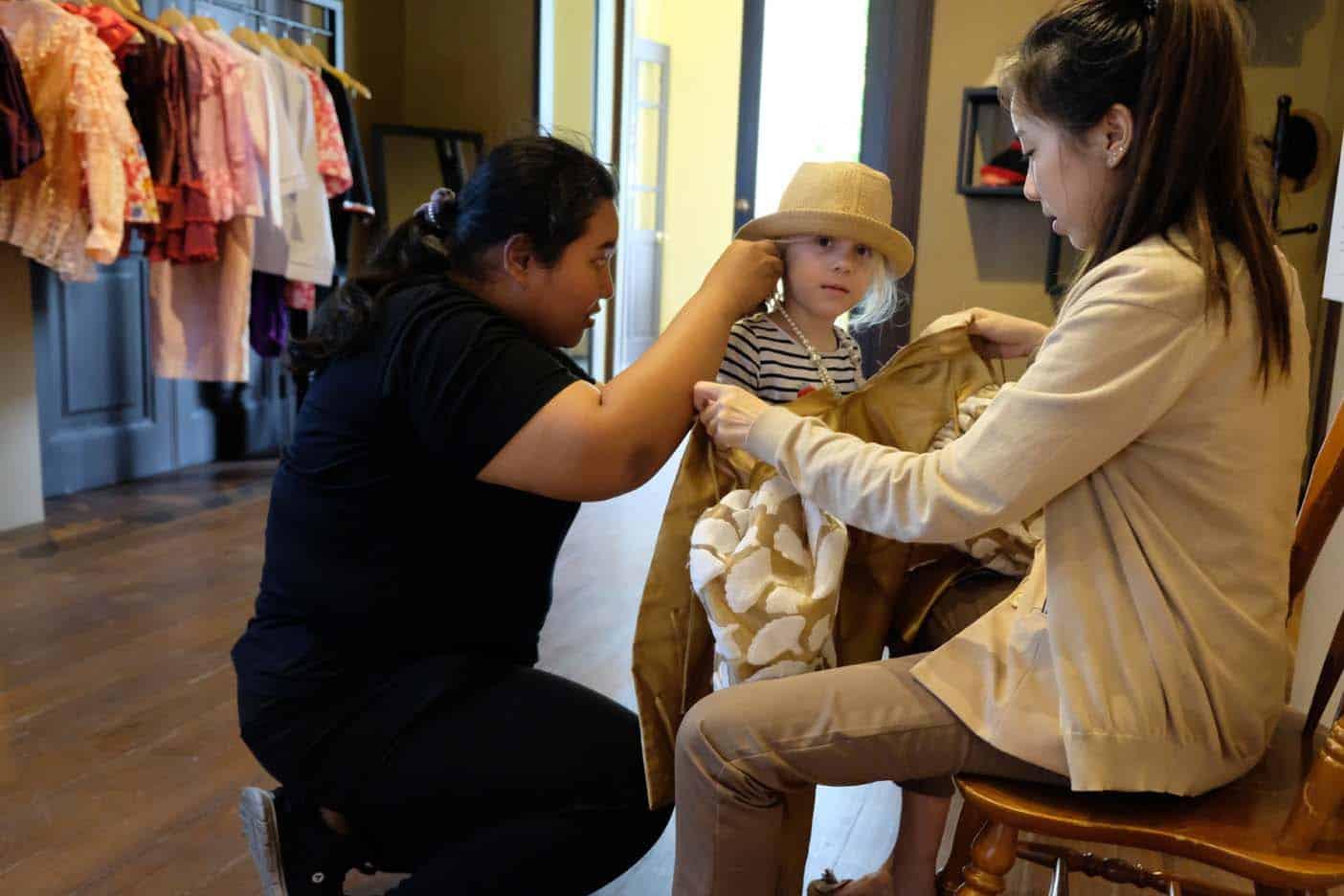 Siam museum bangkok met kind
